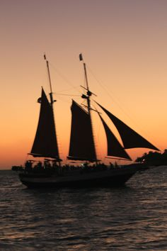 Sunset Cruising in Key West.