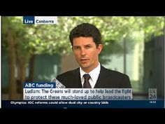Cuts to the ABC will cost jobs: Scott Ludlam Tony Abbott, Love Affair, Stand Up, Olympics, Mens Sunglasses, Public, This Or That Questions, Youtube, Style