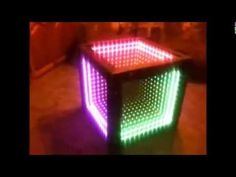 Infinity Mirror table - YouTube