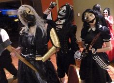 Midwest Haunters - Scary steampunk costumes | by ScareHouseScott