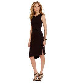 23c05469c3 Antonio Melani Vicky Striped Seersucker Dress  Commandress.  100 MICHAEL  Michael Kors Side Drape Asymmetrical Knit Dress Business Chic