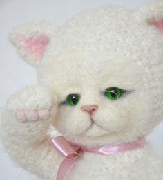 crochet cat / szydełkowany kot