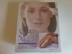 NIB  Verseo e PEN - Electrolysis Pen - Permanent Hair Removal System Needle Free…