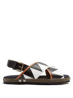 1b9c89293284b0 MARNI Zigzag-Appliqué Sandals.  marni  shoes  sandals Marni Sandals
