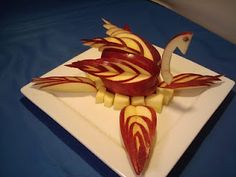 Fruit Carving, Vegetable Carving, Garnishes and Edible Arrangements: Learn To Carve Fruit Videos And Newsletter