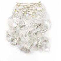 Kihara Synteettinen Klipsipidennys 18' -Platinum Blond