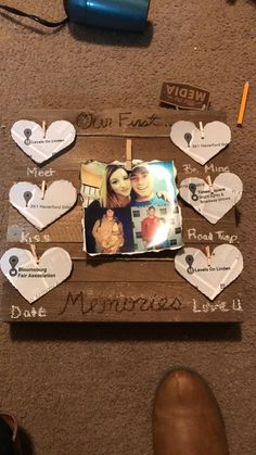 55 diy valentine gifts for him pinterest big thing anniversary diy gift for him valentines day anniversary surprise solutioingenieria Image collections