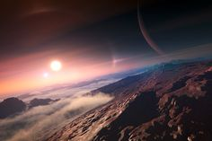 """Using the Kepler space observatory, researchers had discovered a planet roughly the mass of Earth orbiting a star beyond our solar system, and with the Hubble telescope they had provided the first detailed look at the weather of a """"super Earth"""" — a planet larger than ours but smaller than Neptune — in our galactic neighborhood."""