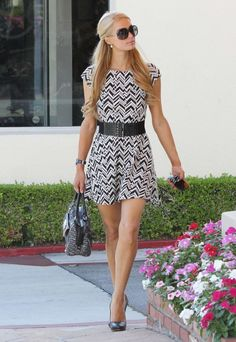 Paris Hilton... Bobby said I look just like her. Now I know who his celeb crush is..!