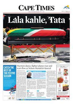 News making headlines: Lala Kahle, Tata Madiba