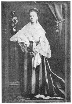 Leonora Rivera at age 15.  Dr. Jose Rizal's sweetheart who became model for the Maria Clara character in Noli Me Tangere, was born in Camiling, Tarlac on  April 11, 1867.