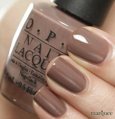 OPI Nail Polish NL B85 Over The Taupe New Brights Collection Creamy Brown | eBay