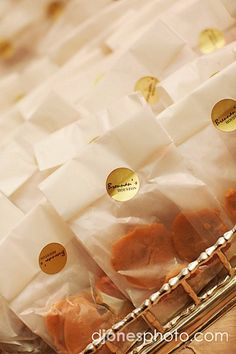 Southern Pralines as favors