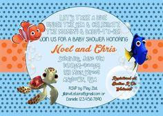 Finding Nemo Baby Shower Invitation