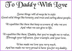 I Love My Daddy Because | best friend before i even tell anything he knows what i want he has ...