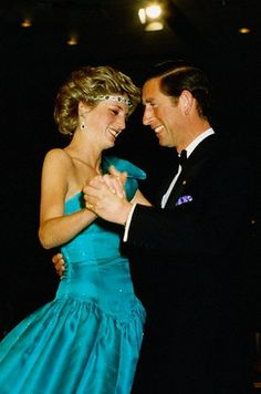 October 30, 1985: Prince Charles and Princess Diana at a ball held at the Southern Cross Hotel, Melbourne, Australia.