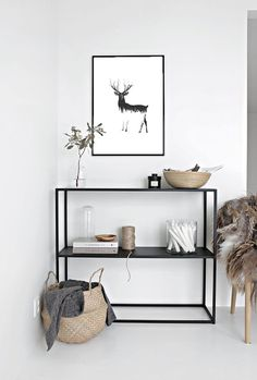 Minimal Interior Design Inspiration # 41 - HOME - Haus Dekoration Scandinavian Interior Design, Home Interior Design, Scandinavian Living, Room Interior, Scandinavian Wall Decor, Apartment Interior, Apartment Ideas, Interior Ideas, Scandinavian Design