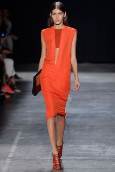 Narciso Rodriguez is rocking it, rocking it.  This Red Dress has my name written all over it!