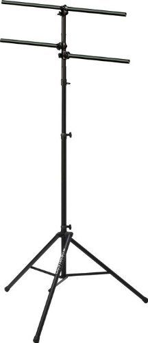 """Ultimate Support LT-88B by Ultimate Support. $179.99. You want to light up the stage, yeah? Well then don't trust your lighting gear to just any old stand system! Get the Ultimate Support LT-88B and know your gear is going to stay right in place. This nice setup comes with the TS88 speaker stand, the LTV-24B vertical extension, the LTB48B 48"""" T-style lighting crossbar, and two LTB24B 24"""" sidebars. It's all you n eed, and it's yours at a great price!. Save 53%!"""