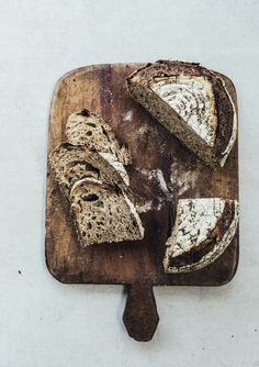 How I make Wholemeal Sourdough Bread - A GIF & Image Guide | Top With Cinnamon