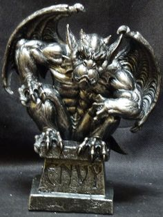 7 Deadly Sins and Definitions | Magnificent Seven Gargoyle 7 Deadly Sins Anger Lust Sloth Envy Pride ...