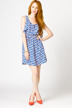 Taryn Printed Dress- Apparently that is the name of this dress. NOW I want it!