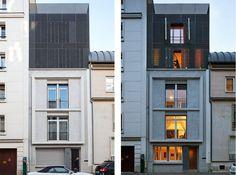 Surélévation rue Daumier, par l'agence Hardel LeBihan