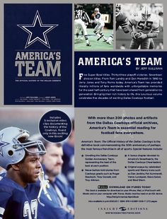 America's Team: The Authorized History of the Dallas @Cowboys (download the eBook from the Apple Store)