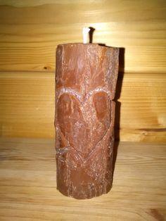 Sviečka kmienik z rastlinného vosku