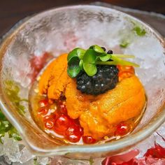 """3 Roe Tartar - RM88. Caviar Sea Urchin and Ikura (Salmon Caviar) 3 in 1 served with home made sauce that will surely entice your taste buds.  For reservation please call 603-7980 8228 or click the """"Book Now"""" button on our Facebook page.  #ishin #JapaneseFood #kaiseki #finedining #food #omakase #wine #sake #Kirin #beer #foodporn #wine #yummy #foodporn #instafood #delicious #foodie #eat #foodgasm #foodpic #cooking #love #follow #followme #happy #like4like #follow4follow by ishin_kl"""