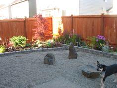 Backyard grass landscaping pea gravel ideas for 2019