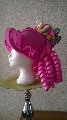 foam wig and dress - Buscar con Google