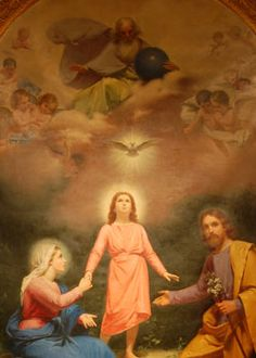 The Holy Trinity and The Holy Family (includes a Nine-Day Novena to St. Joseph)