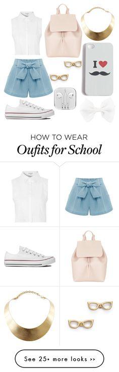 """School Backpack"" by minionandbaymaxlover on Polyvore"