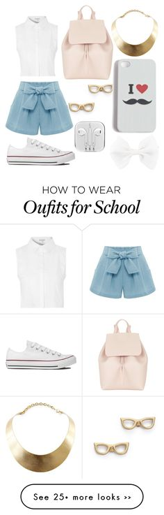"""School Backpack"" by minionandbaymaxlover on Polyvore"