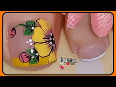 Cute Acrylic Nails, Toe Nail Art, Gel Nails, Pedicure Designs, Toe Nail Designs, Cute Pedicures, Manicure And Pedicure, Pretty Toe Nails, Love Nails