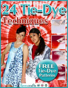 24 Tie-Dye Techniques Free Tie-Dye Patterns The Effective Pictures We Offer You About Dye shirt A quality picture can tell you many things. You can find the most beautiful pictures that can be present Tie Dye Shirts, Dye T Shirt, Diy Shirt, How To Tie Dye, How To Dye Fabric, Tye Dye, Hippie Crafts, Tie Dye Party, Tie Dye Crafts