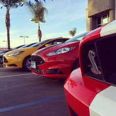 Focus ST, Fiesta ST and the Shelby GT500.... #GoFurther with horsepower.