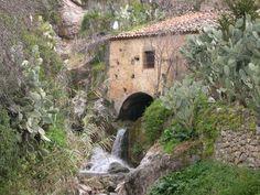 Mulino ad acqua ad Alcara li Fusi