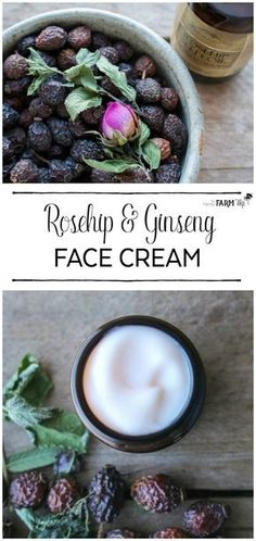 Garden Landscaping India Rosehip and Ginseng Face Cream Recipe.Garden Landscaping India Rosehip and Ginseng Face Cream Recipe Crema Facial Natural, Natural Face Cream, Be Natural, Natural Beauty, Natural Life, Cream For Oily Skin, Face Cream For Wrinkles, Skin Cream, Face Creams
