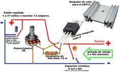 Regulador de voltaje: 1v a 37v con LM317 - Taringa!