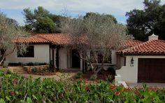 Small Montecito Spanish Style homes photos