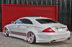 Doing Donuts With Bernie: Forgiato Shows off a Mercedes CLS 550