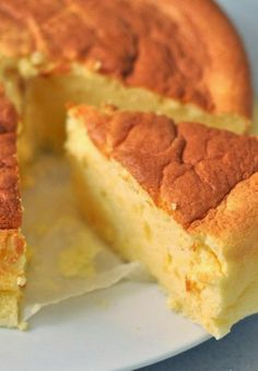 Cotton Soft Japanese Cheesecake ~ This is a very light, melt in your mouth cake 10