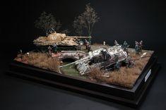 """""""A Bitter Spring Awakening"""" 1/35 Scale Model Diorama"""