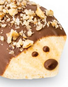 Madeline Hedgehogs -- or use dutch chocolate sprinkles for the prickles...