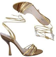 miu miu gold sandals, från Florens