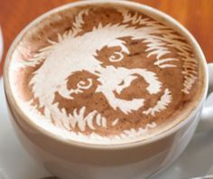 3d espresso foam art - Google Search