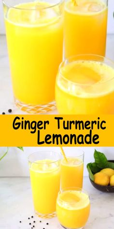 Fresh ginger turmeric lemonade recipe made whole foods: fresh ginger and turmeric root and a touch of black peppercorns to boost the absorption of curcumin and stimulate the taste buds.
