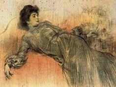 60 x 45 cm. Spanish Painters, Spanish Artists, Fine Art Drawing, Life Drawing, Ramones, Figure Painting, Figure Drawing, Belle Epoque, Modernisme